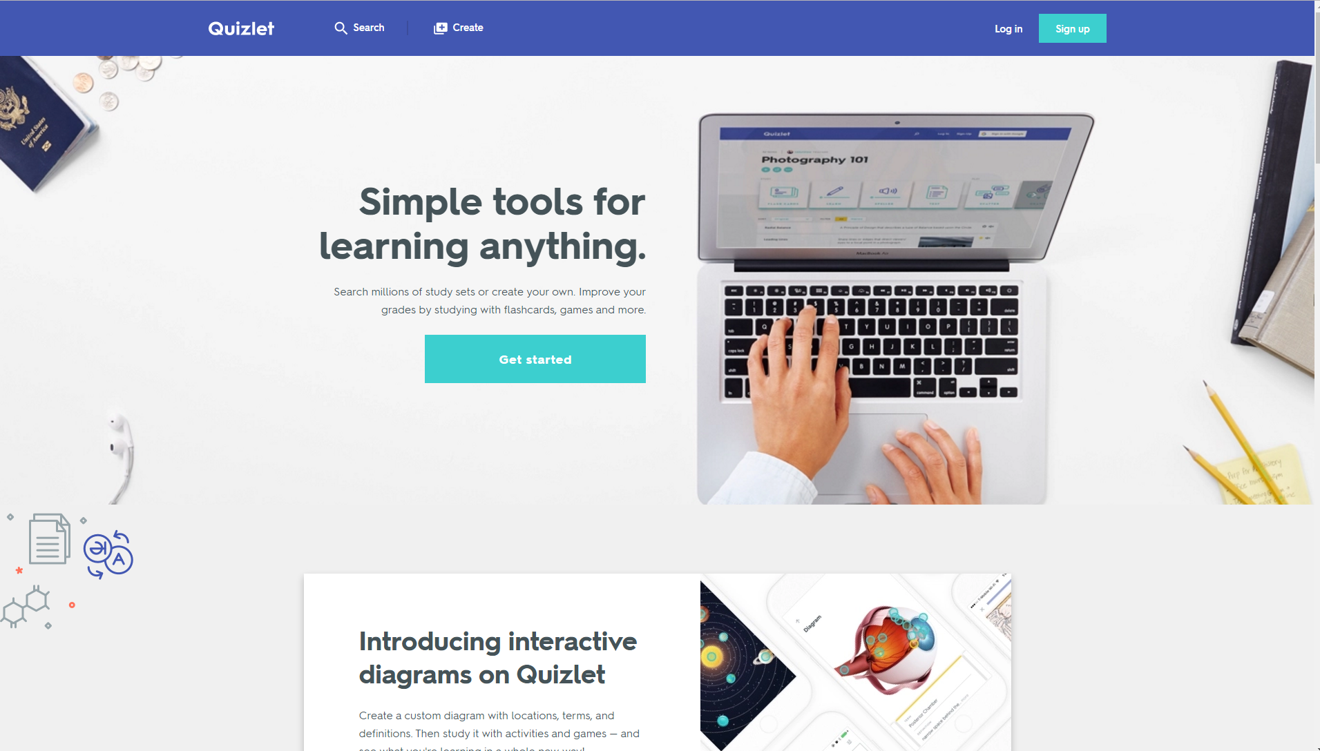 Quizlet - Technology Tool Finder